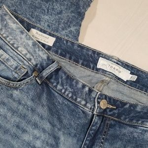 torrid Jeans - Torrid Acid Wash Boyfriend Jeans Size 18